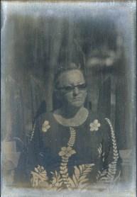 mother portrait, 10x15cm daguerreotype