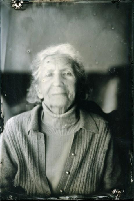 Grandmother portrait, Ambrotype 10x15cm