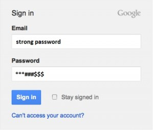 Strong password generator and ideas