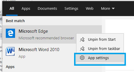 How to Uninstall Microsoft Edge, uninstalled microsoft edge browser in windows 10