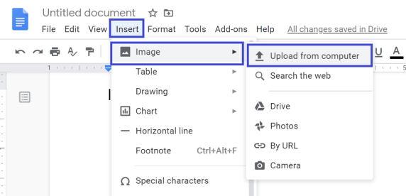 how to put image behind text in google docs, google docs image behind text