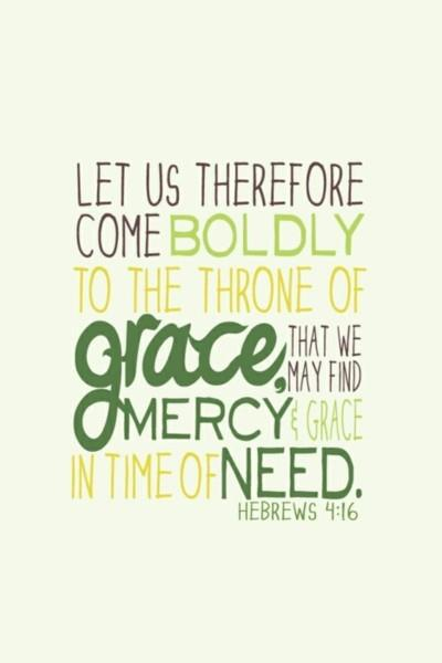 Mercy And Grace To Spare!  Ilife Journey