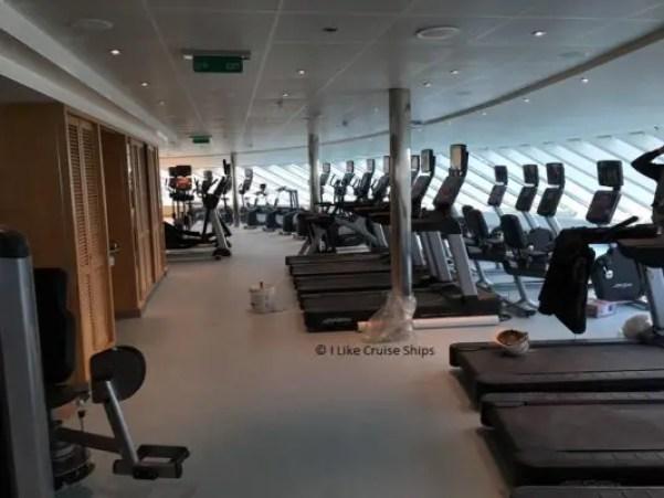 inaugural cruise gym