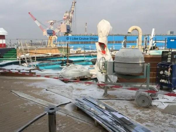 inaugural cruise cement