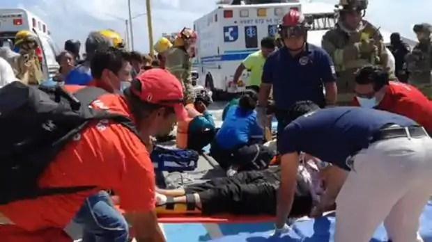 Playa Del Carmen Ferry injuried
