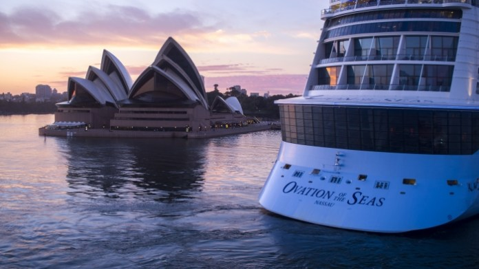 Ovation of the Seas - Sydney