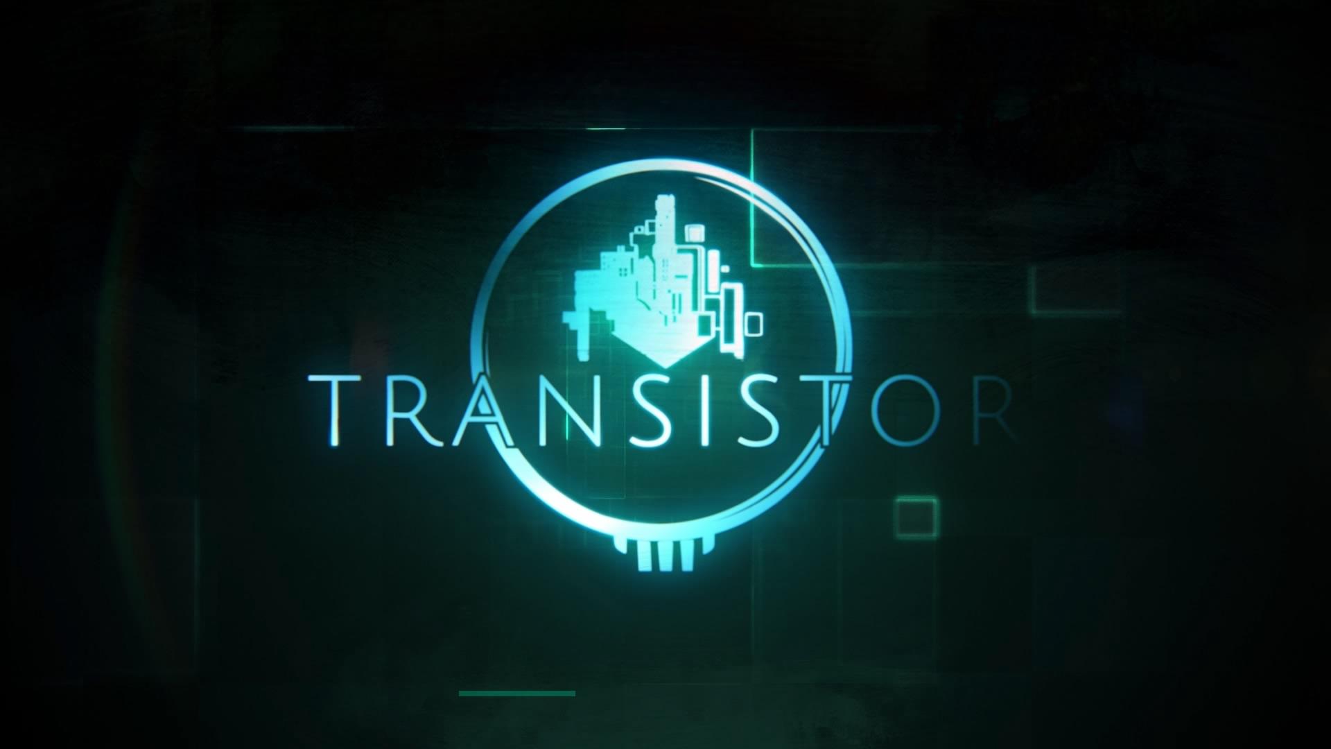 Start Screen UI - Transistor