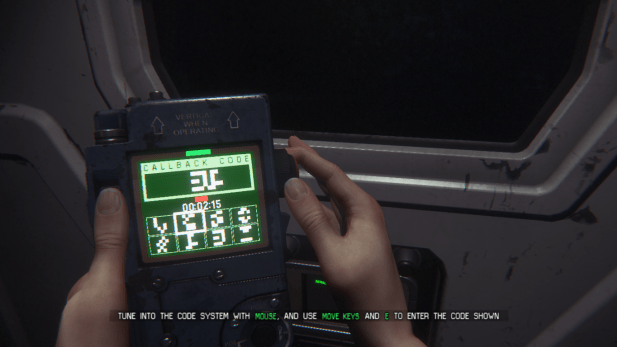 Hacking Minigame UI - Alien Isolation
