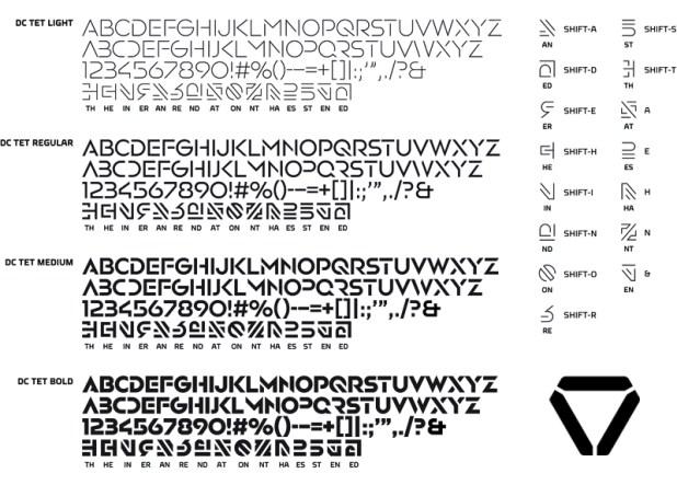 DC Tet Font - Oblivion
