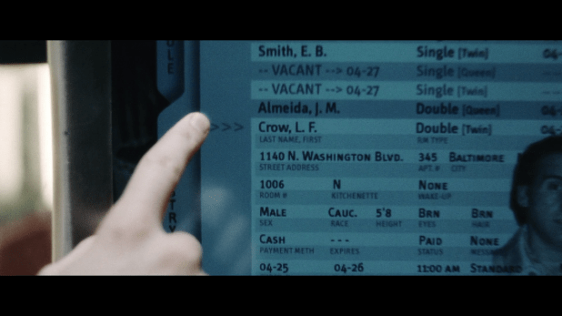 Database UI - Minority Report
