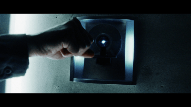 Scan and Recognition UI - Minority Report