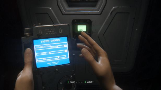 Hacking Minigame UI – Alien: Isolation – INTERFACE LOVE