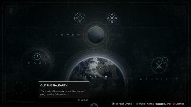 Maps UI - Destiny