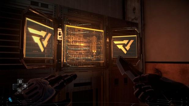 Diegetic UI (Display) - Killzone Shadow Fall