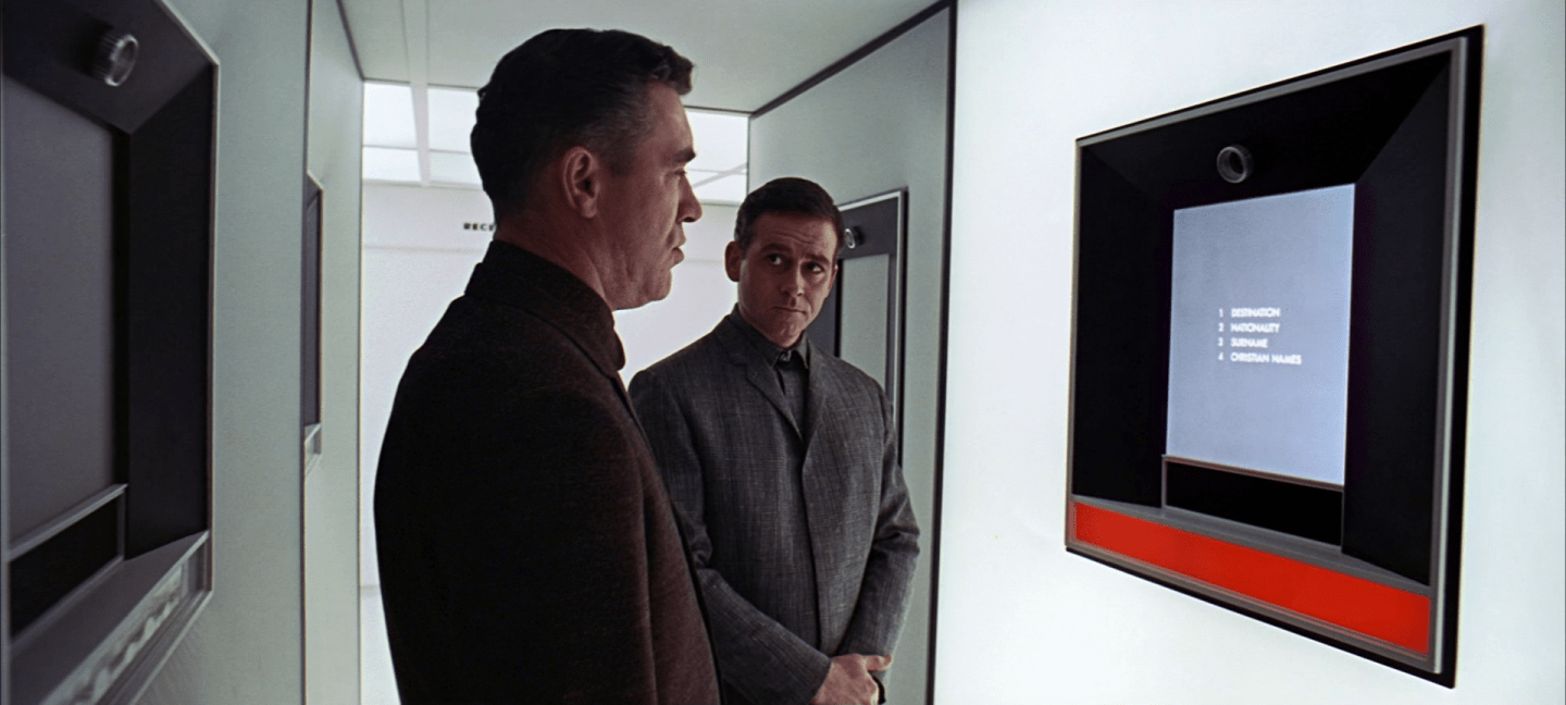 Security UI - 2001 A Space Odyssey