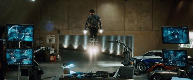 Schematic UI - Iron Man 1