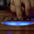 Control Panel UI - Fifth Element