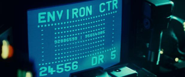 Cockpit UI - Blade Runner
