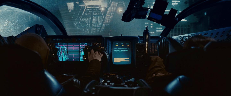 Navigation UI - Blade Runner