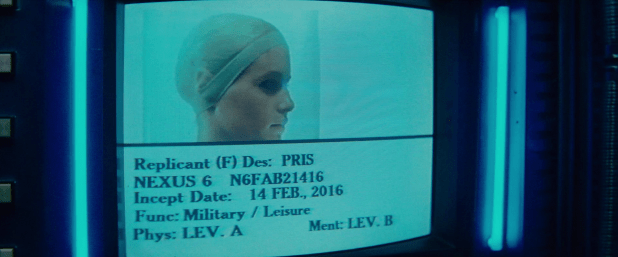 Database UI - Blade Runner