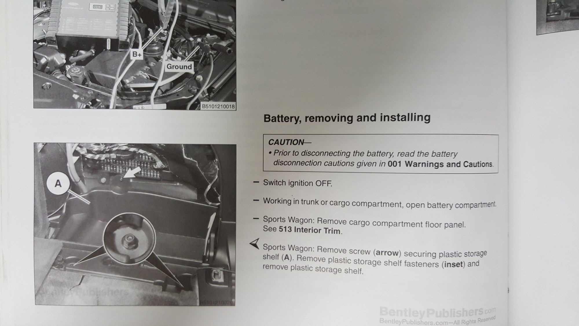 hight resolution of the manual all but confirms that the charging system in the bmw seems to store voltage settings and the state of the old battery