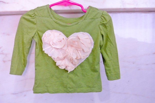 ruffle heart shirt