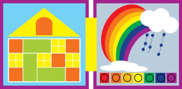 Build House and Rainbow Page