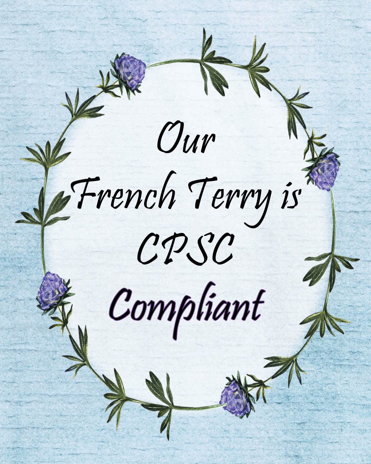 cpsc compliance certificate