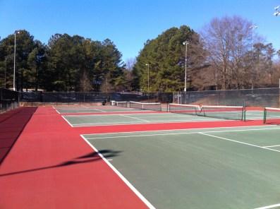 Intramural Fields tennis courts