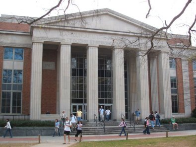 Main Library on North Campus