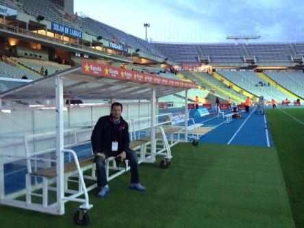 Montjuic Stadium in Barcelona (1992 Olympics)