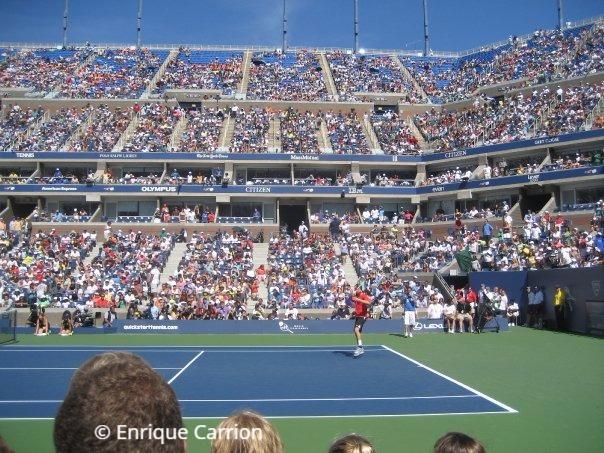 Arthur Ashe Stadium in New York (US Open)