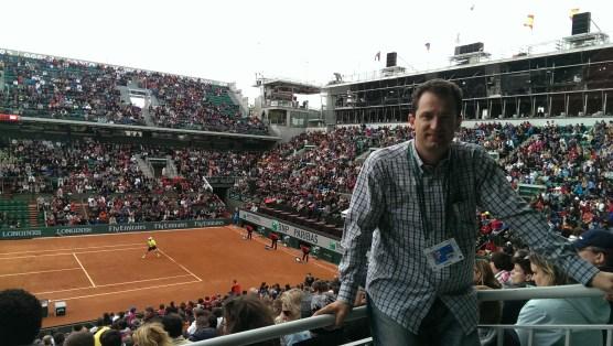 Center court Roland Garros