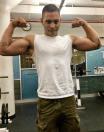 Isaac powers muscles