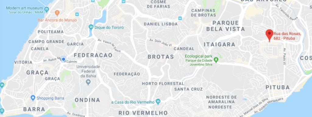 sauna fox map for the fanciest gay sauna in Salvador garotos de programa