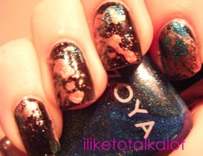 splatter manicure iliketotalkalot 3