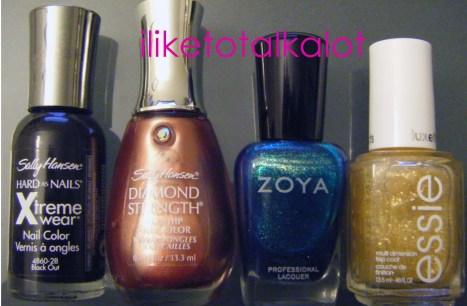 splatter manicure iliketotalkalot 7