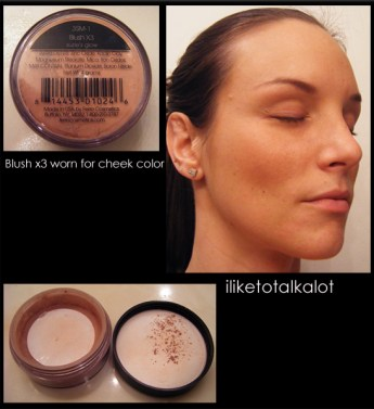 Ferro Cosmetics Blush x3