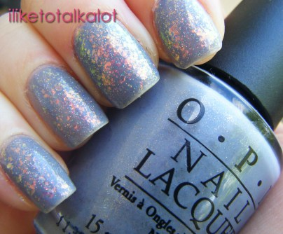 OPI I dont give a rotterdam FINAL with flakies and holo