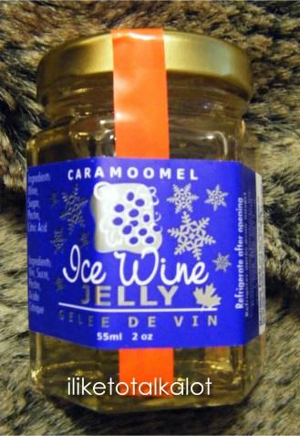iliketotalkalot petit amuse caramoomel ice wine jelly