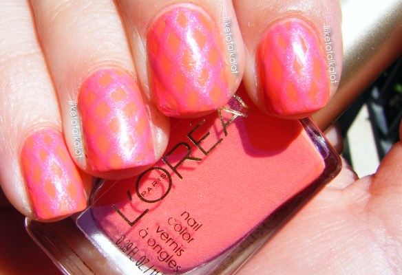 loreal tangerine crush summer fishnets iliketotalkalot 1
