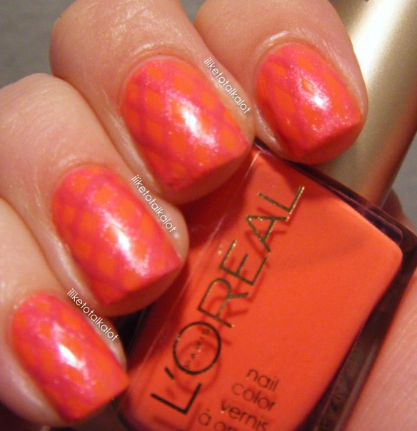 loreal tangerine crush summer fishnets iliketotalkalot 3