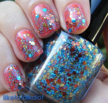 iliketotalkalot rainbow polish havasu 2