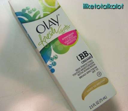 olay fresh effects bb cream blended packaging