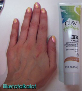 olay fresh effects bb cream blended size