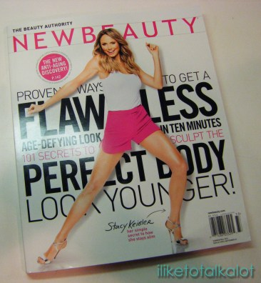 newbeauty MAGAZINE july august 2013 iliketotalkalot