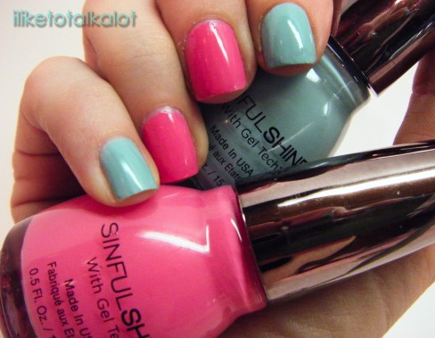 sinfulshine sinful colors gel tech sunvoxbox iliketotalkalot
