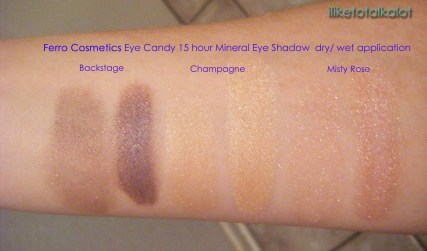 ferro cosmetics eye candy comparison switch