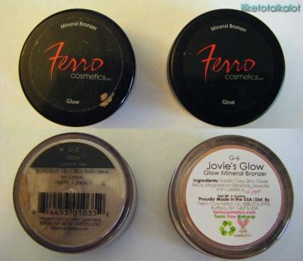 ferro cosmetics glow bronzers