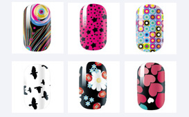 omg nail strip designs i want